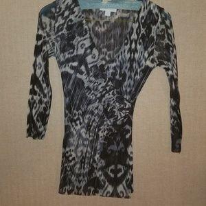 Black and Grey Leopard Print